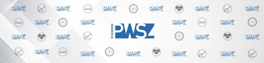 Tło PWSZ z logotypami instytutów