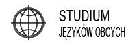 Logo studium języków obcych