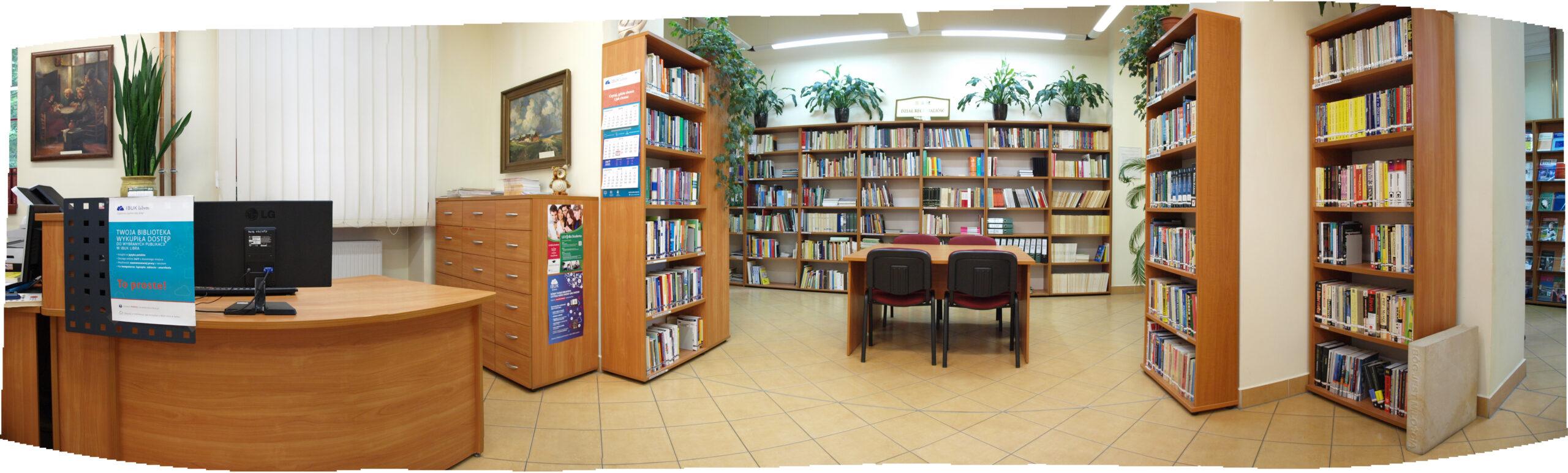Czytelnia Biblioteki PWSZ